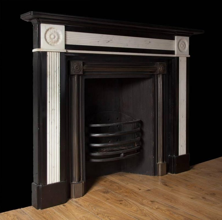 Regency Marble Mantel In Good Condition For Sale In Tyrone, Northern Ireland
