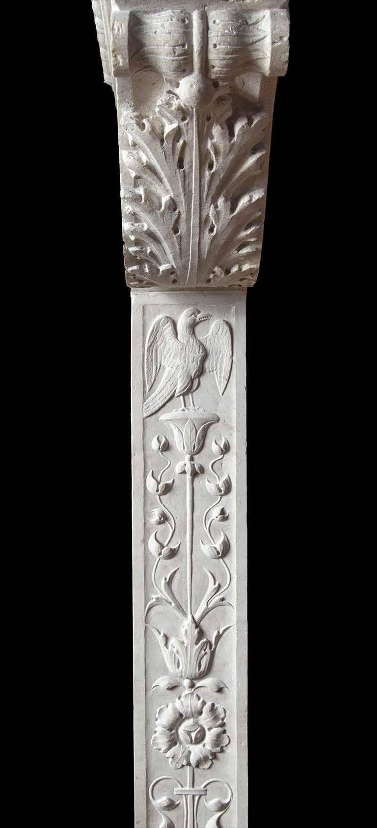 Italian Renaissance Stone Mantelpiece 3