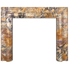 Marble Bolection Fireplace