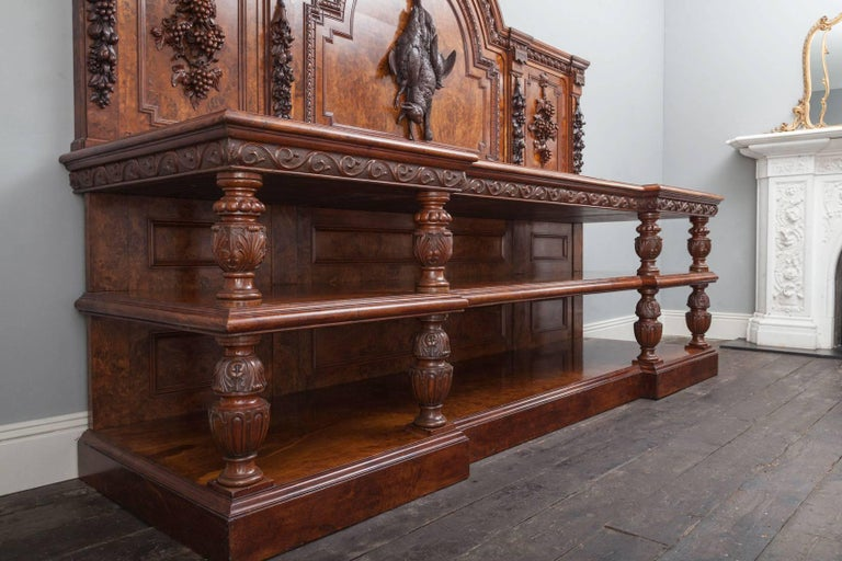 Large Antique Sideboard In Excellent Condition For Sale In Tyrone, Northern Ireland