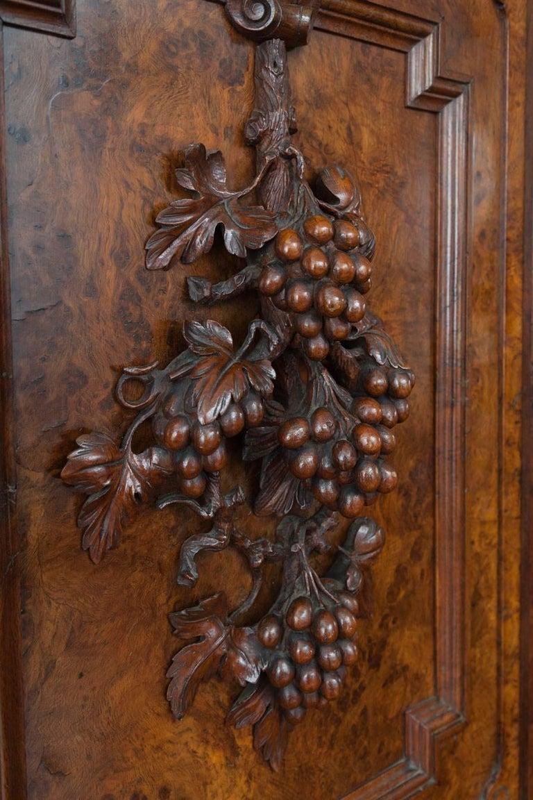 Oak Large Antique Sideboard For Sale