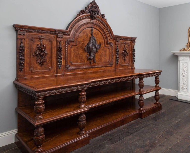 Large Antique Sideboard For Sale 2