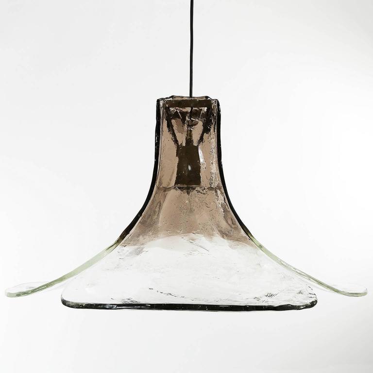 Pendant Light by Carlo Nason for Mazzega, Italy, 1970 3