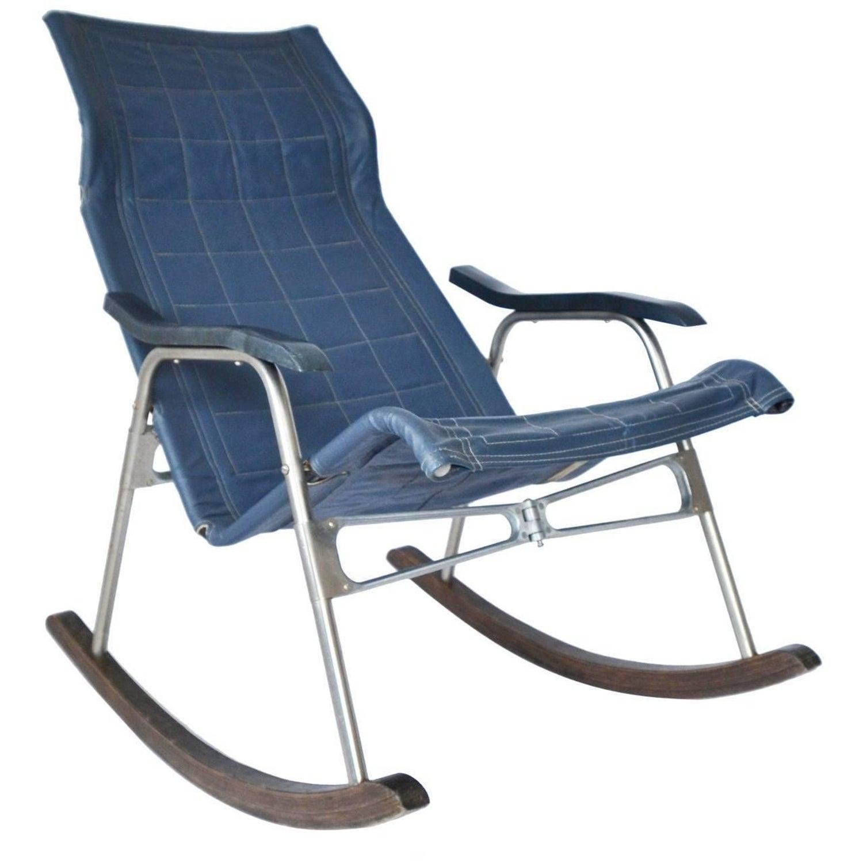 "Takeshi Nii ""NY"" Folding Rocking Chair at 1stdibs"