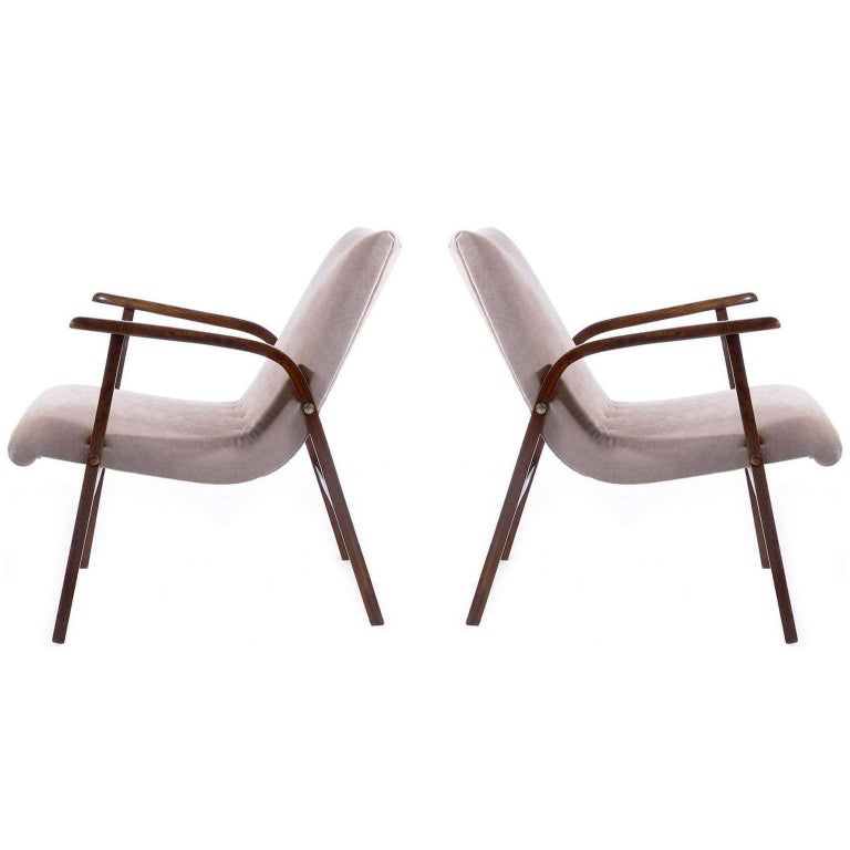 Roland Rainer, Set of 12 Armchairs Stacking Chairs, 1951 For Sale 8