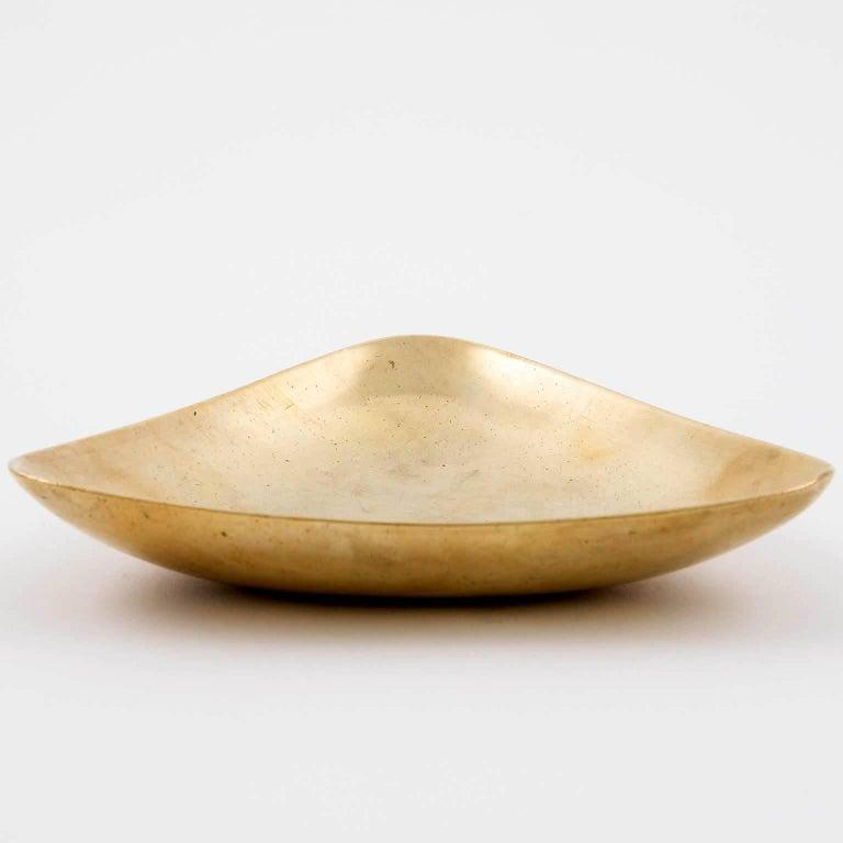 Austrian Carl Auböck Brass Ashtray or Bowl, 1950s For Sale