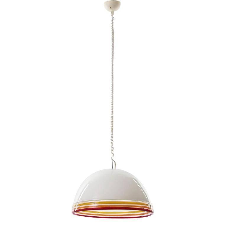 Italian Pendant Light by Roberto Pamio and Renato Toso for Leucos, 1970s In Excellent Condition For Sale In Vienna, AT