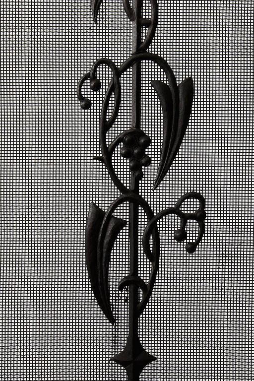 Early 20th Century Art Deco Fireplace Door / Fire Screen by Dagobert Peche, Austria, 1920s For Sale