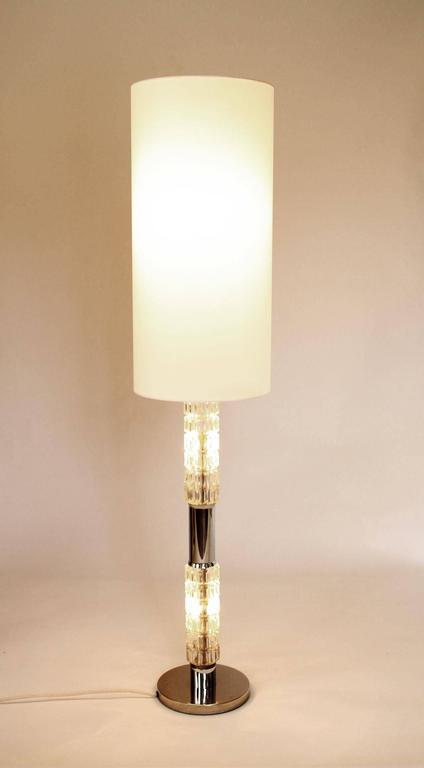 1970s Richard Essig Floor Or Table Lamp With Illuminated