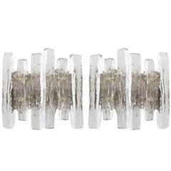 Kalmar Glass Sconces, 1970