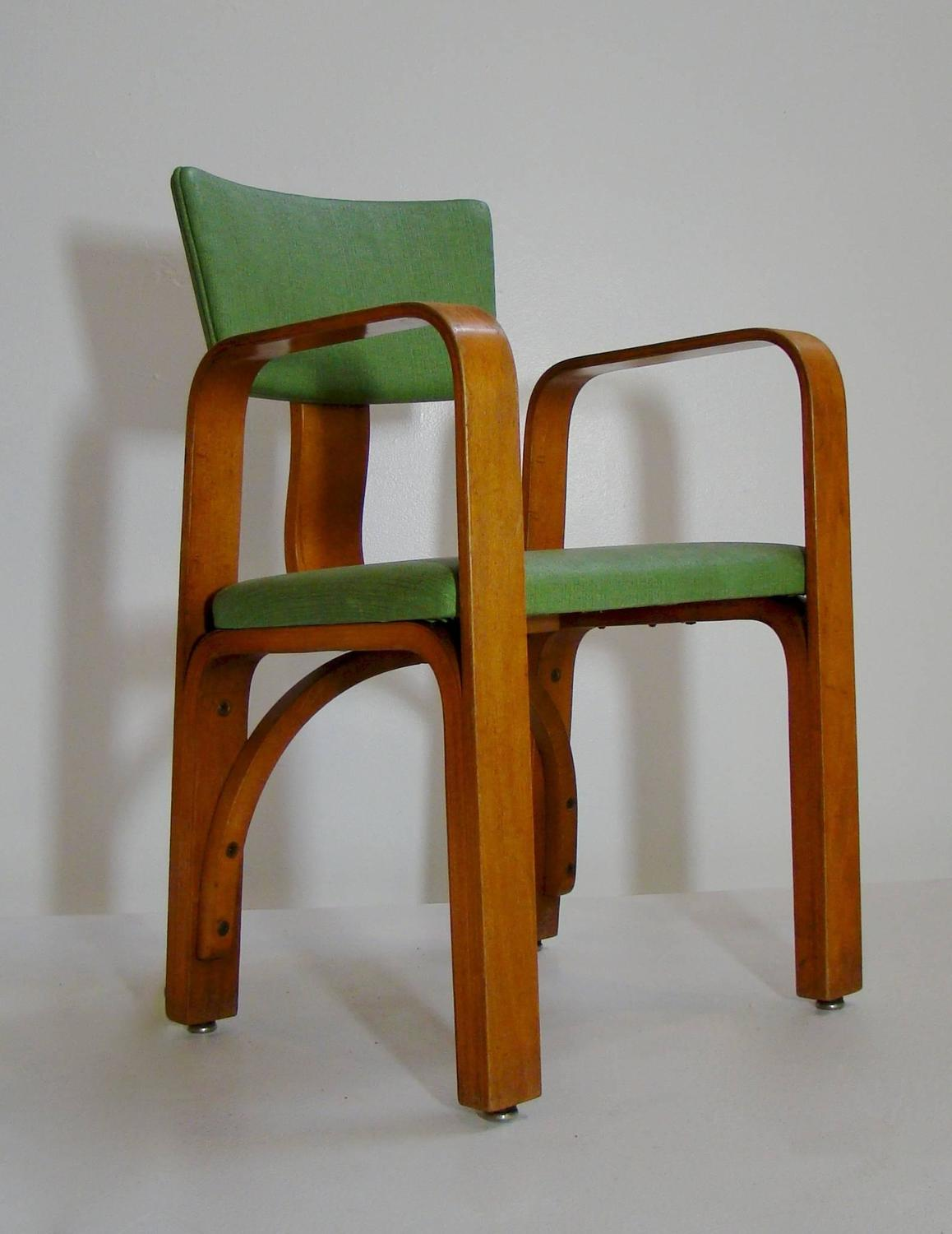 bentwood childs armchair or occasional chair attributed to