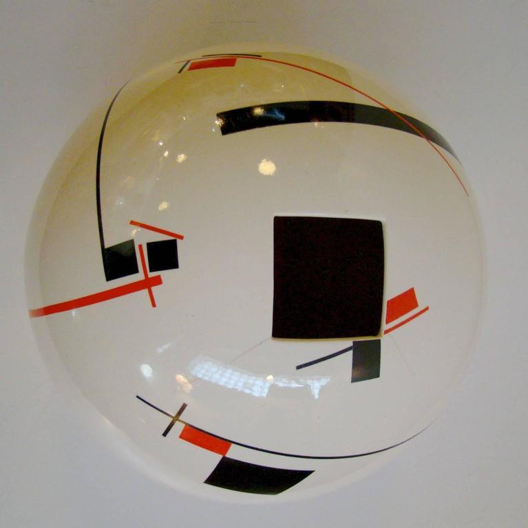 Bauhaus art deco inspired modernist art pottery vase for for Replica bauhaus