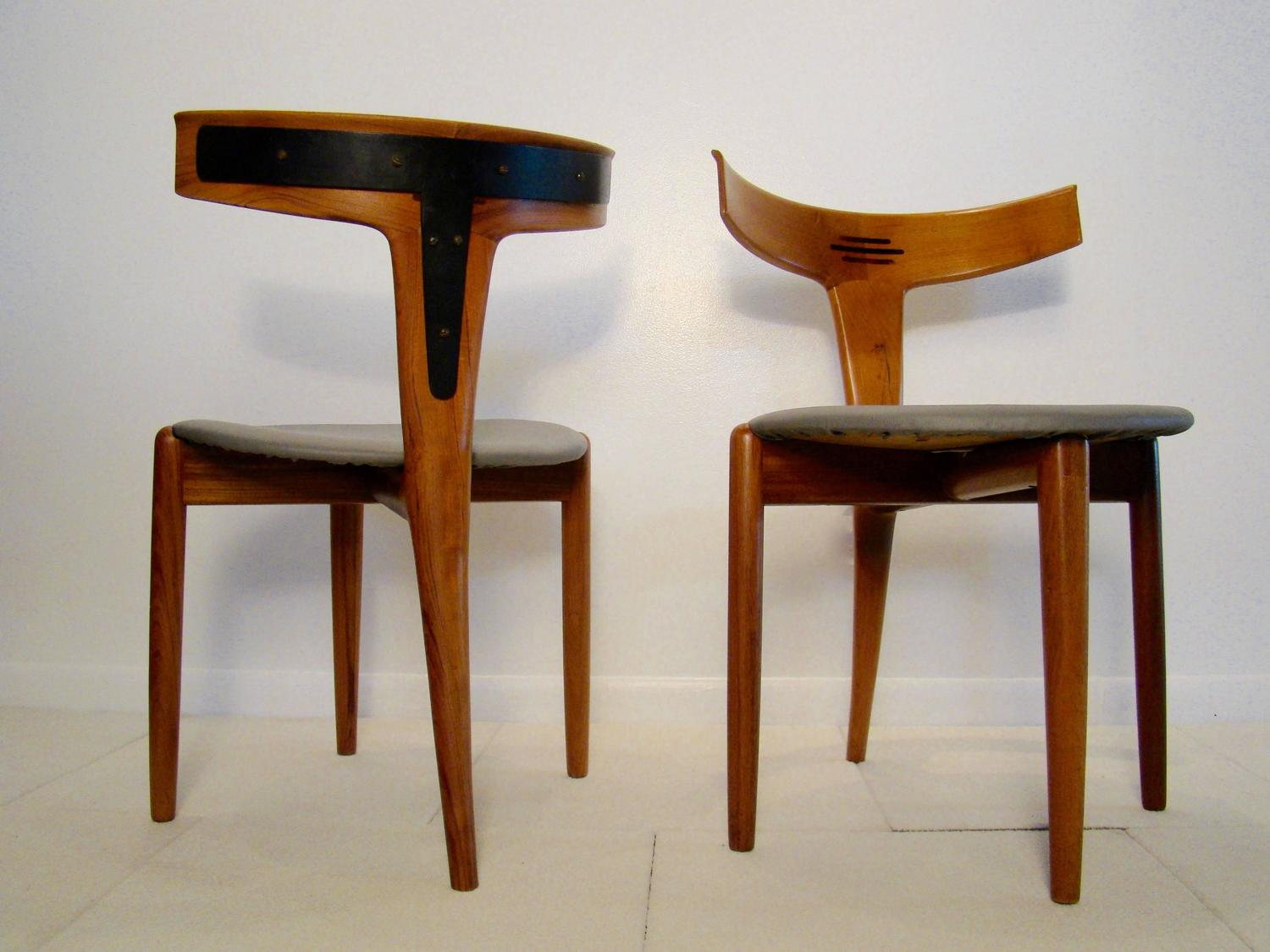 Rare and Beautiful Dining Accent Chair by Kurt Ostervig