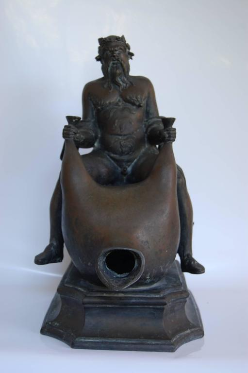 Italian Bronze Fountain Head,