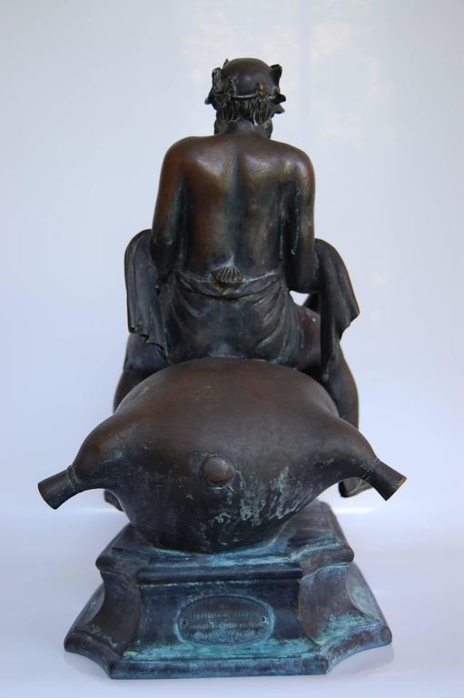 Cast Bronze Fountain Head,