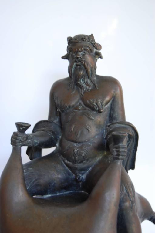 Bronze Fountain Head,