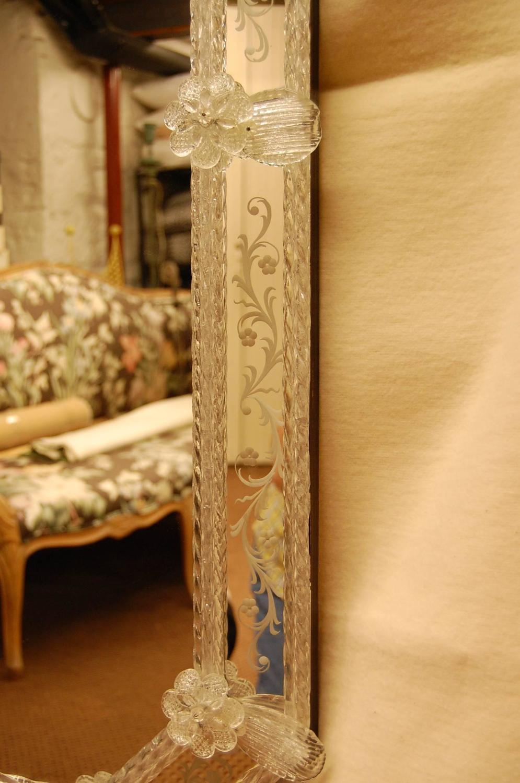 Large Reproduction Venetian Wall Mirror Circa 1990 At 1stdibs