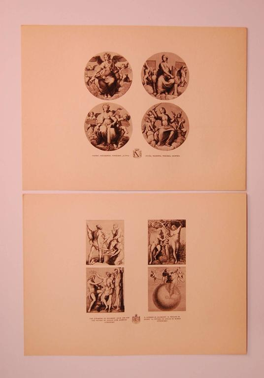 Unknown Set/Eight 20th Century Prints Depicting Ancient Roman Events For Sale