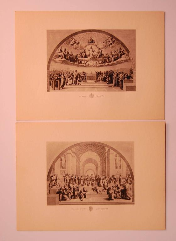 Classical Roman Set/Eight 20th Century Prints Depicting Ancient Roman Events For Sale