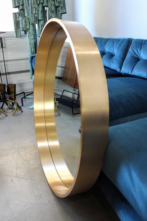 Brass Large Round