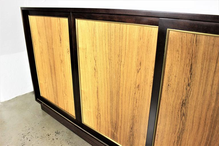 Harvey Probber Dresser or Buffet in Mahogany and Rosewood, 1960s 8