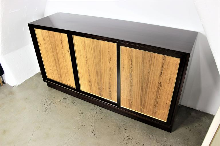 Harvey Probber Dresser or Buffet in Mahogany and Rosewood, 1960s 7
