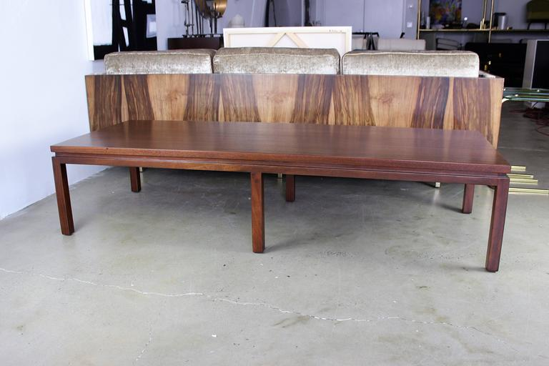 Large mahogany harvey probber coffee table 1960s for sale for Coffee tables harveys