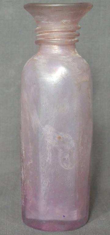 Seguso Scavo Murano Amethyst Vase In Excellent Condition For Sale In New York, NY