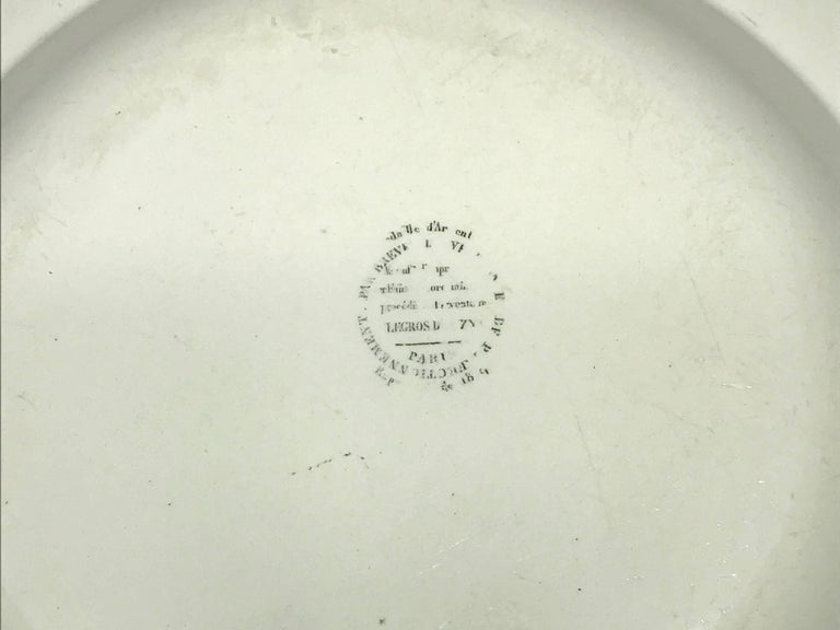 Creil Creamware Plates For Sale 4