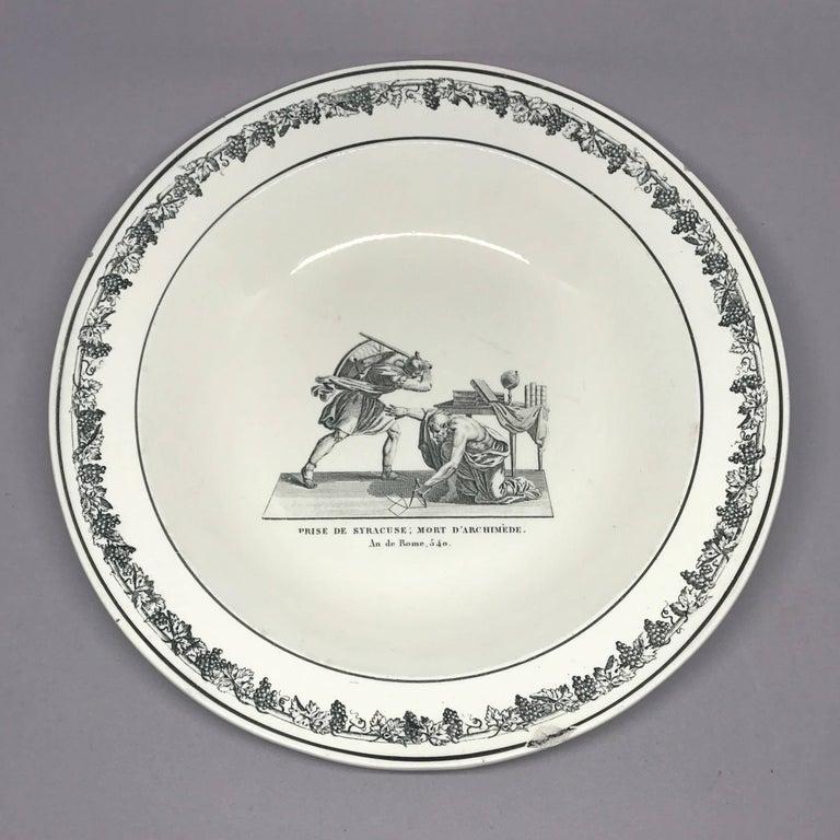 Creil Creamware Plates For Sale 2