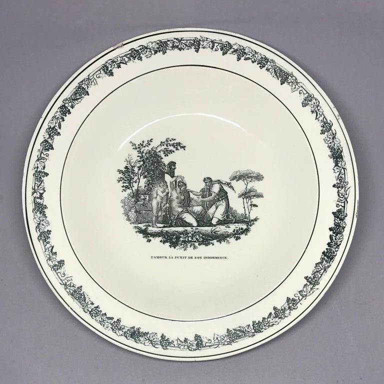 Creil Creamware Plates For Sale 1