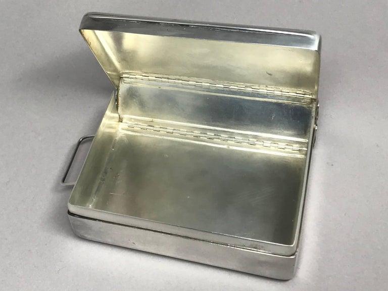 Plated Silver Cigarette Box