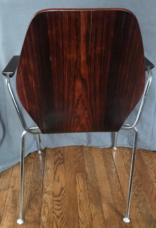 Mid-Century Dänische Rosenholz Stühle 9
