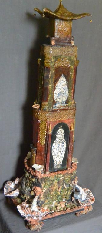 Large Italian Chinoiserie Pagoda For Sale 3