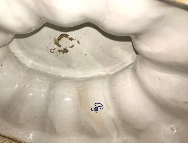 Very Large Bassano Floral Centerpiece Bowl 3