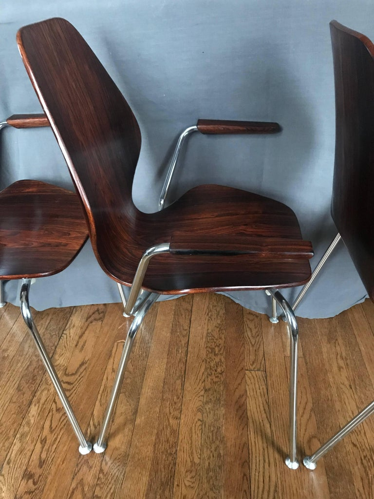 20th Century Midcentury Danish Rosewood Chair For Sale