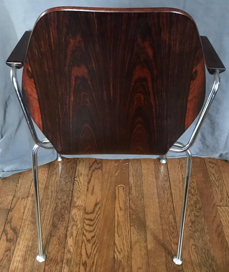 Midcentury Danish Rosewood Chair For Sale 2