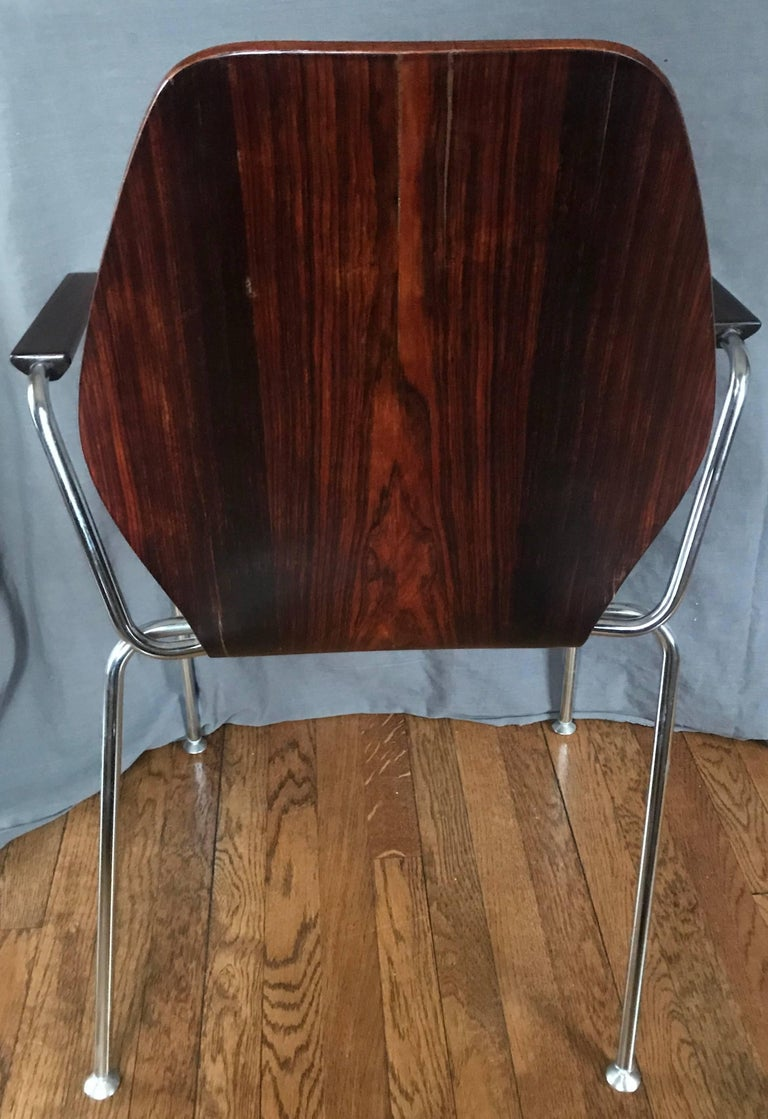Midcentury Danish Rosewood Chair For Sale 3