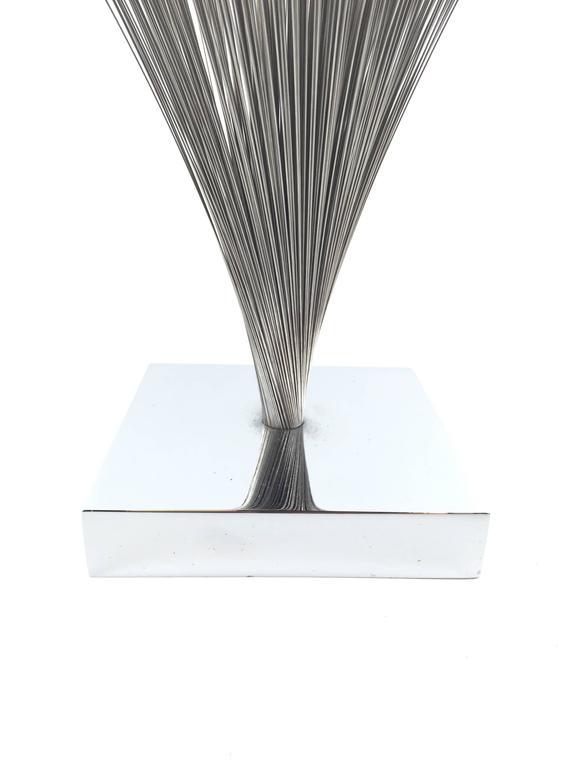 "Original Vintage Harry Bertoia Wire ""Spray"" Sculpture 2"