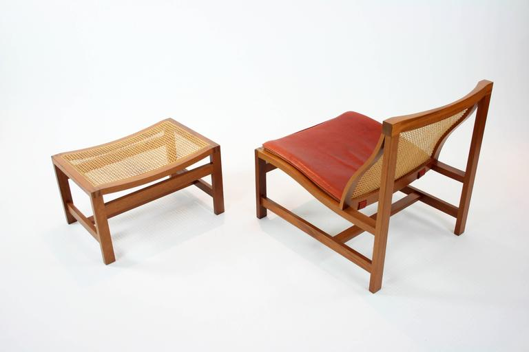 rud thygesen and johnny sorensen kongeserie lounge chair