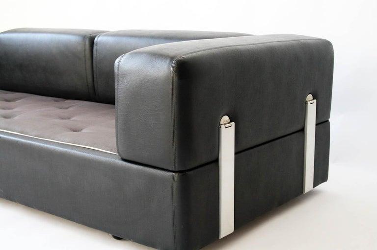 1960s Tito Agnoli Model 711 Sofa Bed for Cinova, Italy For Sale 1
