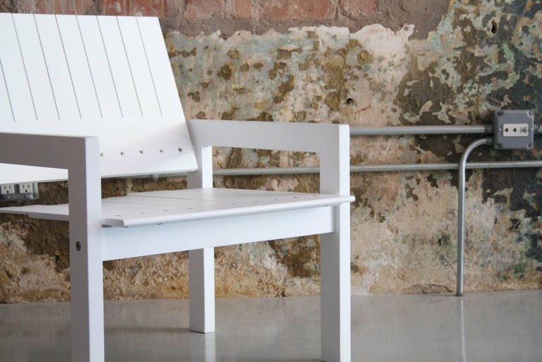 Mid-Century Modern Bernt Petersen Crate Lounge Chair for Carl Hansen, Denmark, 1982 For Sale