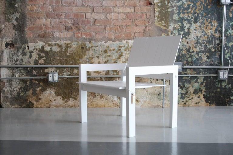 Danish Bernt Petersen Crate Lounge Chair for Carl Hansen, Denmark, 1982 For Sale