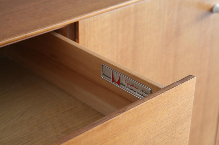 20th Century Thin Edge Cabinet or Credenza by George Nelson for Herman Miller For Sale