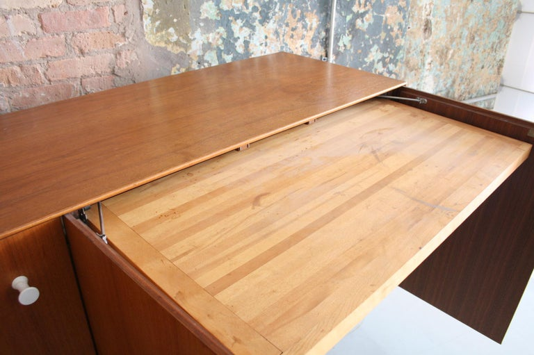 Teak Thin Edge Cabinet or Credenza by George Nelson for Herman Miller For Sale