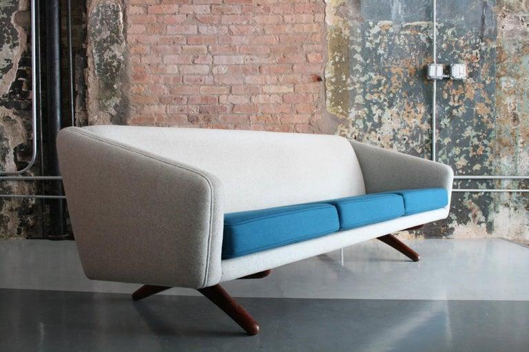 20th Century Danish Sofa by Llum Wikkelso Sofa for Mikael Laursen, Denmark, Model ML-90 For Sale