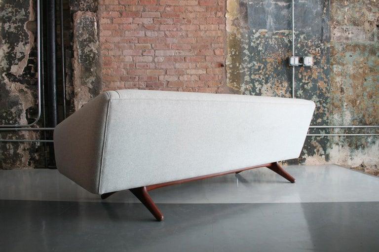 Danish Sofa by Llum Wikkelso Sofa for Mikael Laursen, Denmark, Model ML-90 For Sale 1