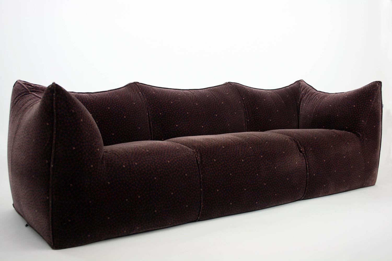 Mario Bellini Iconic Le Bambole Sofa In Original Fabric For B Italia At 1stdibs