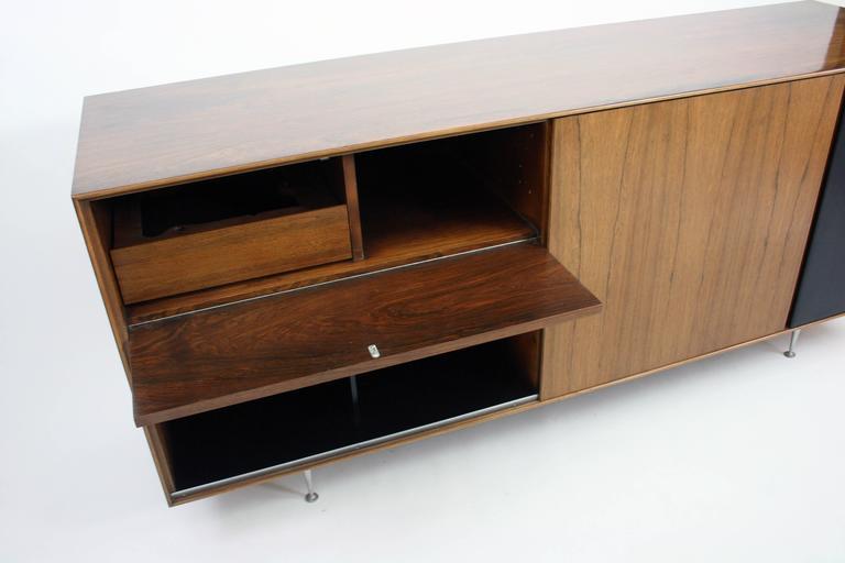 George Nelson for Herman Miller Thin Edge TV  HIFI Cabinet model 5 -> Tv Hifi Sideboard