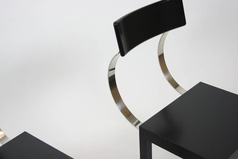 Folia Chair by Giuseppe Terragni for Zanotta, Italy In Excellent Condition For Sale In Chicago, IL